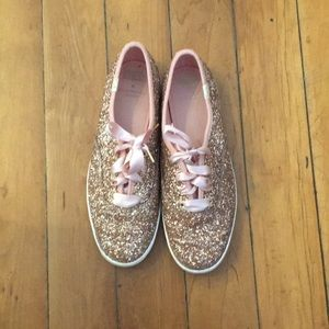 Sparkly keds from Kate Spade